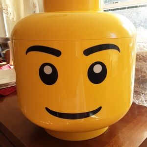 Lego Head Sort and Store Container & Legos